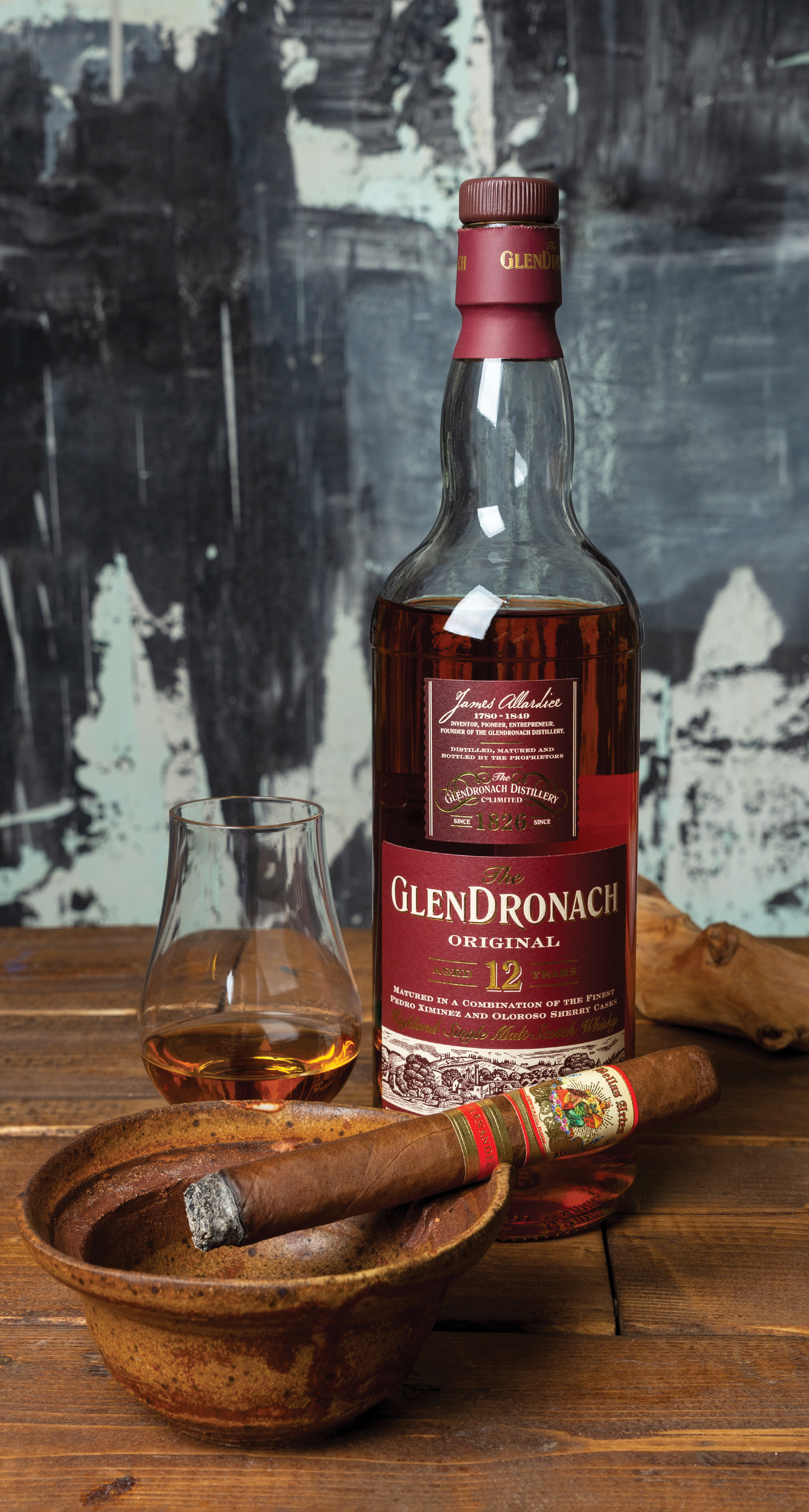 AJ Fernandez Bellas Artes / The GlenDronach Original Aged 12 Years