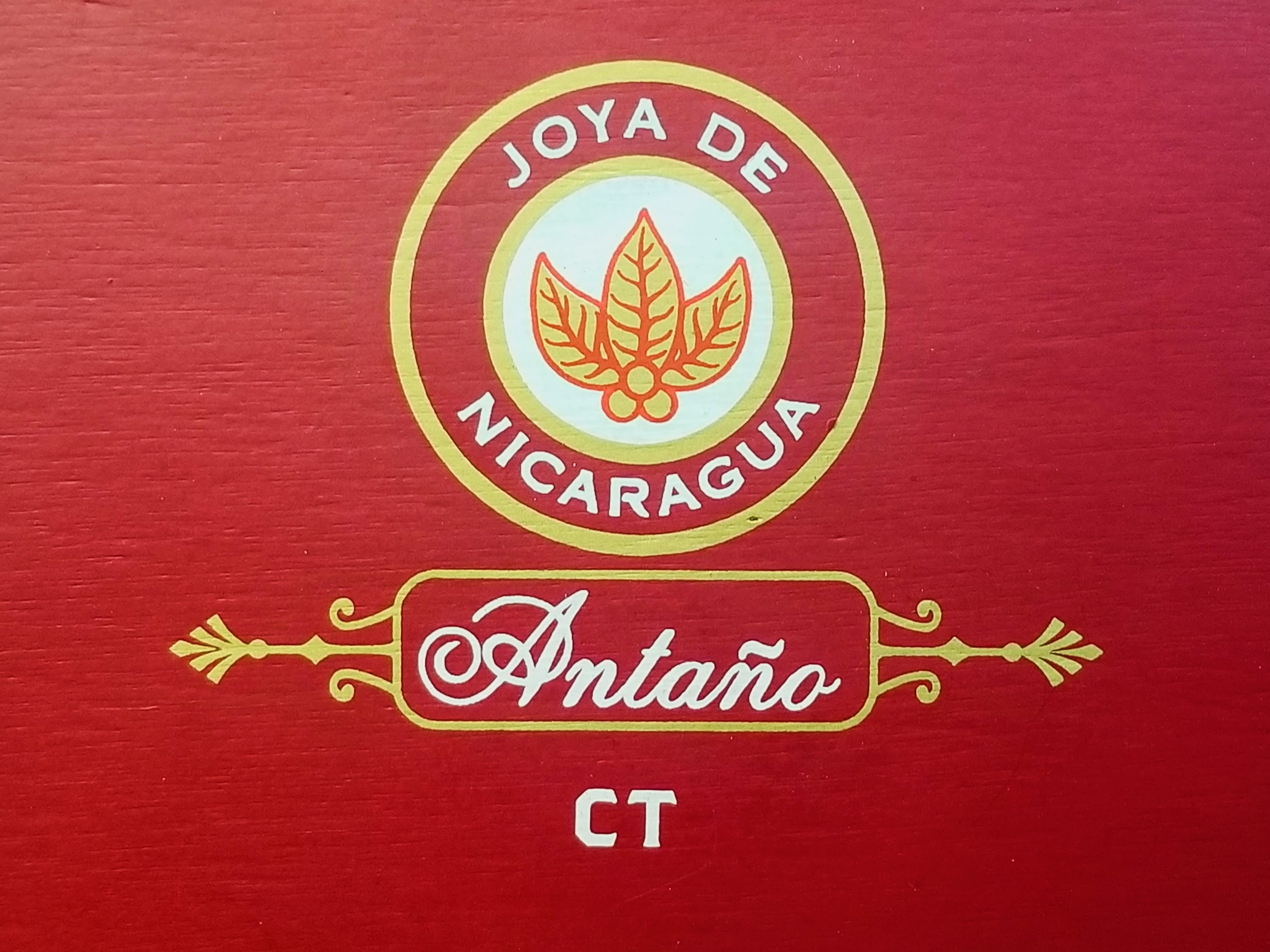 Joya de Nicaragua Antaño CT box art