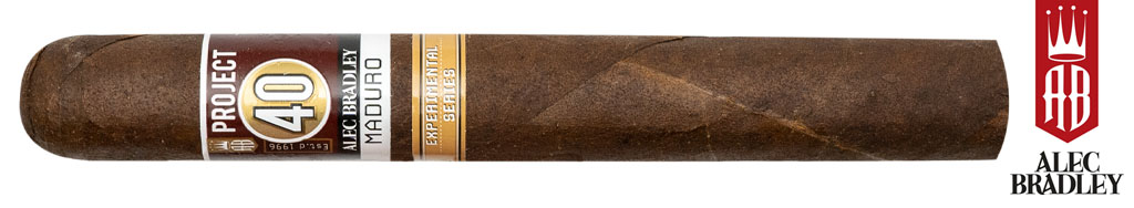 Alec Bradley Cigar Co. Now Shipping Project 40 Maduro