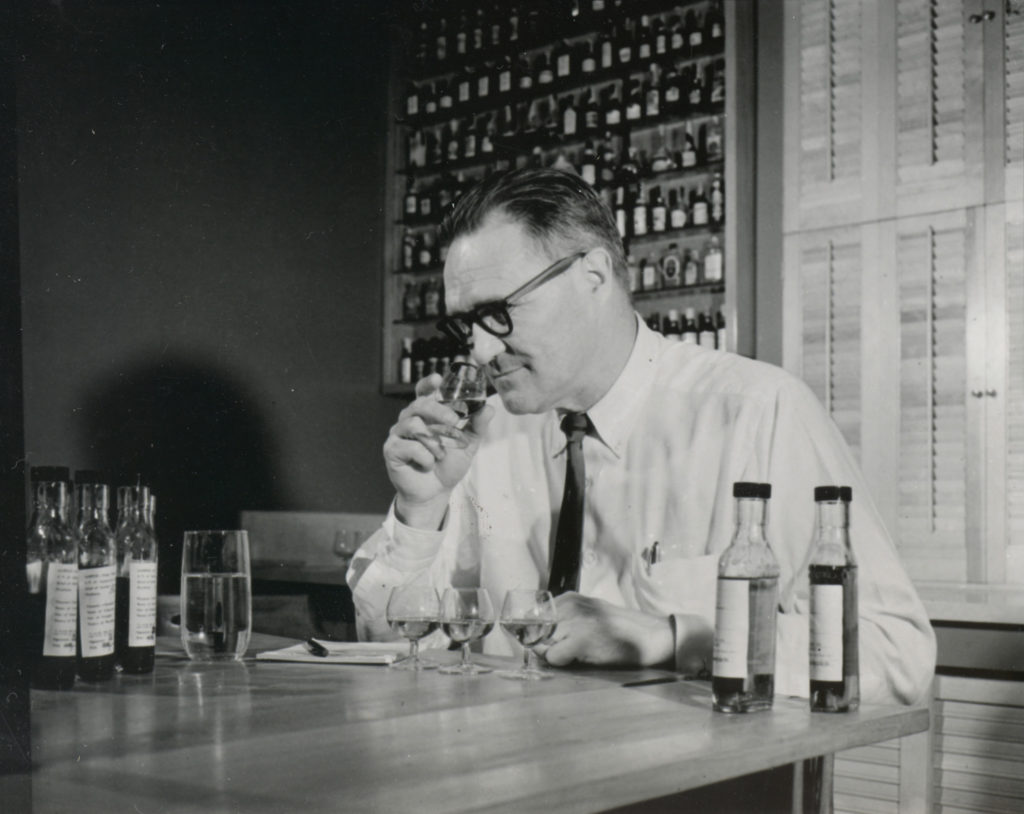 """Bill Samuels, Sr., founder of Maker's Mark, set out to make better tasting bourbon by concentrating on """"front of the palate"""" flavors.  Maker's Mark Wood Finishing Series"""