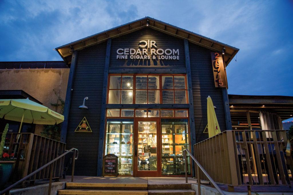Cedar Room's exterior