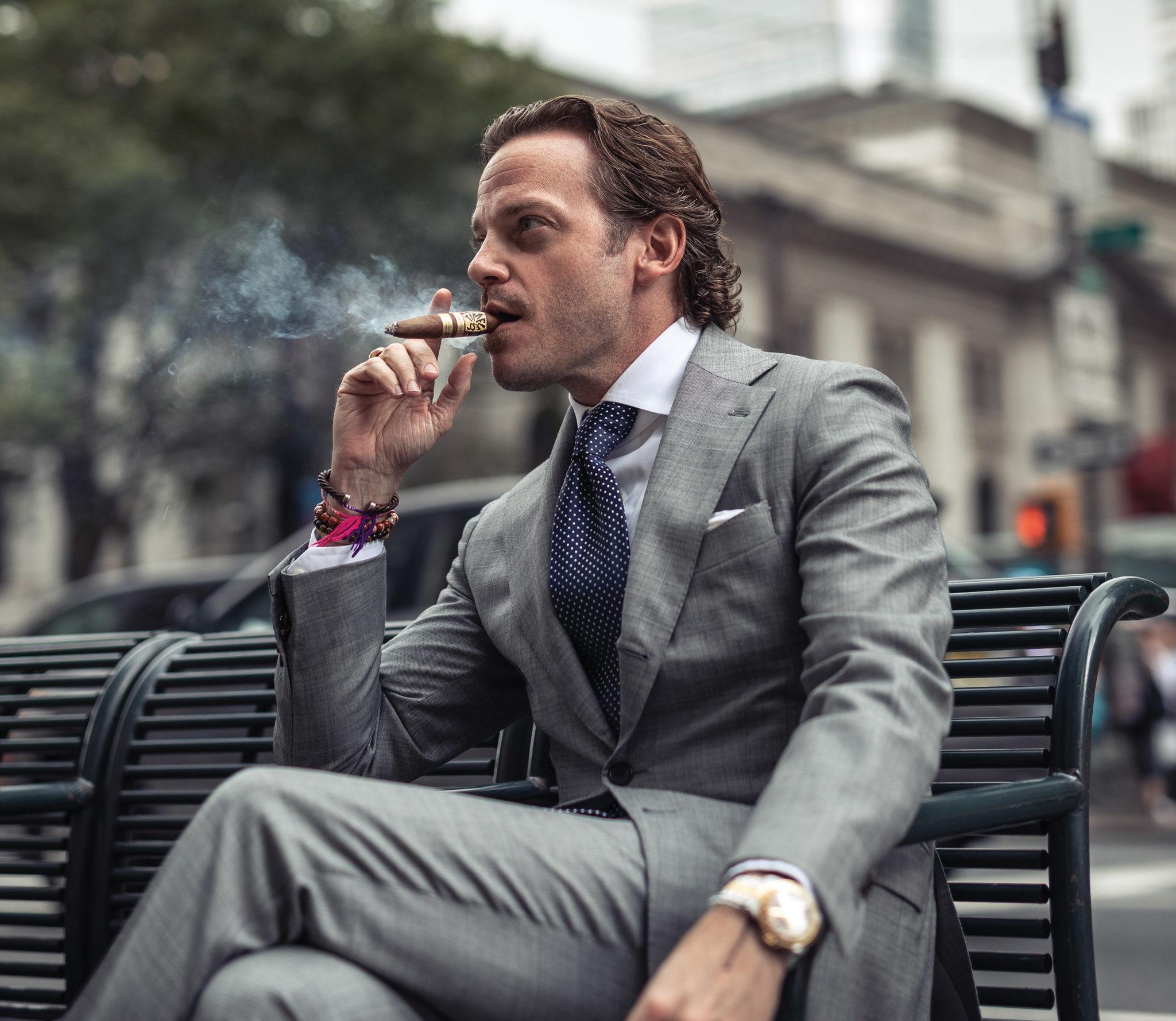 Cigar Snob Michael Herklots Nat Sherman