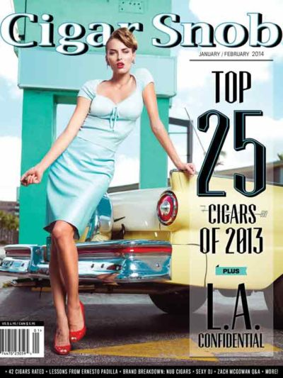 Cigar Snob Magazine January February 2014 cover