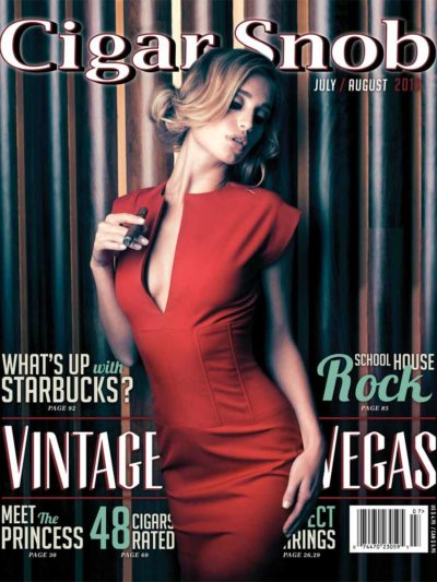 Cigar Snob Magazine July August 2013 cover