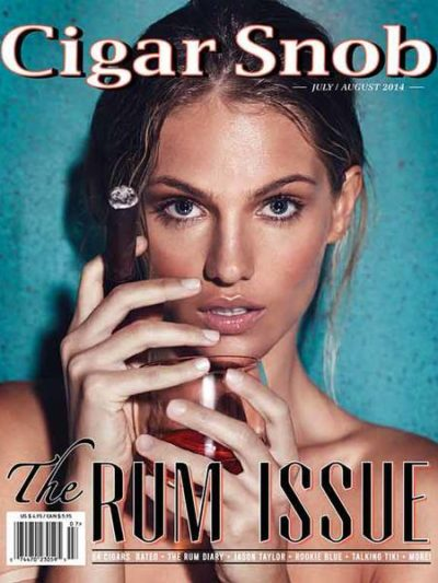 Cigar Snob Magazine July August 2014 cover