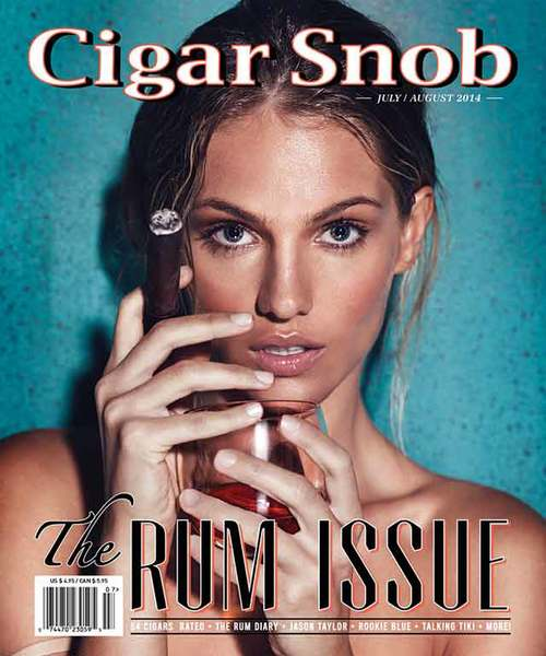 Cigar Snob Magazine July August 2014 cover