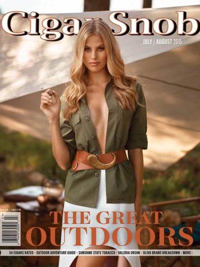 Cigar Snob Magazine July August 2015 cover
