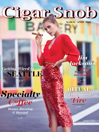 Cigar Snob Magazine March April 2019 cover