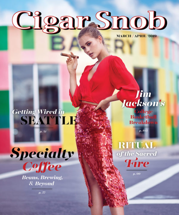 Cigar Snob Magazine March April 2019 cover