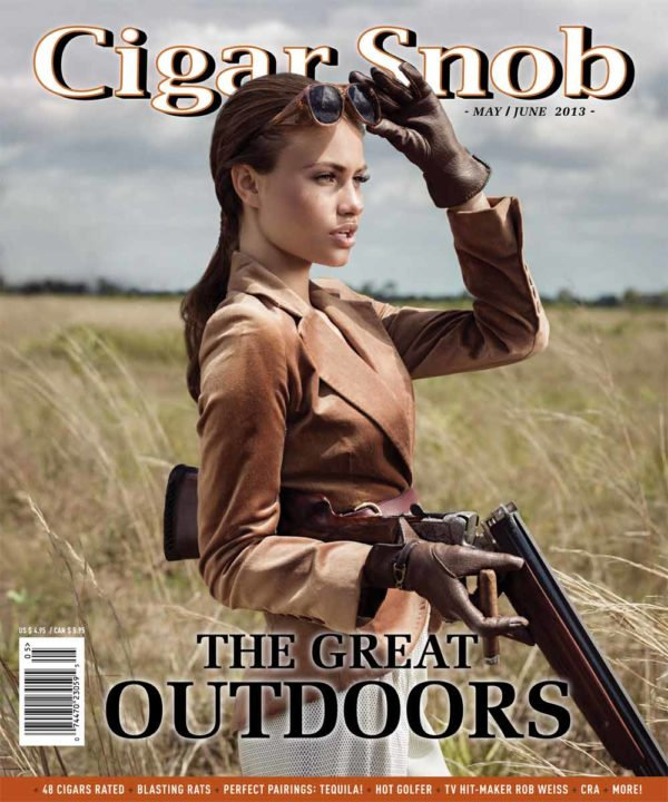 Cigar Snob Magazine May June 2013 cover