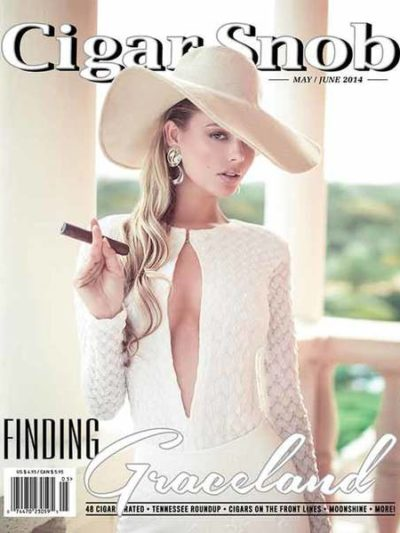 Cigar Snob Magazine May June 2014 cover