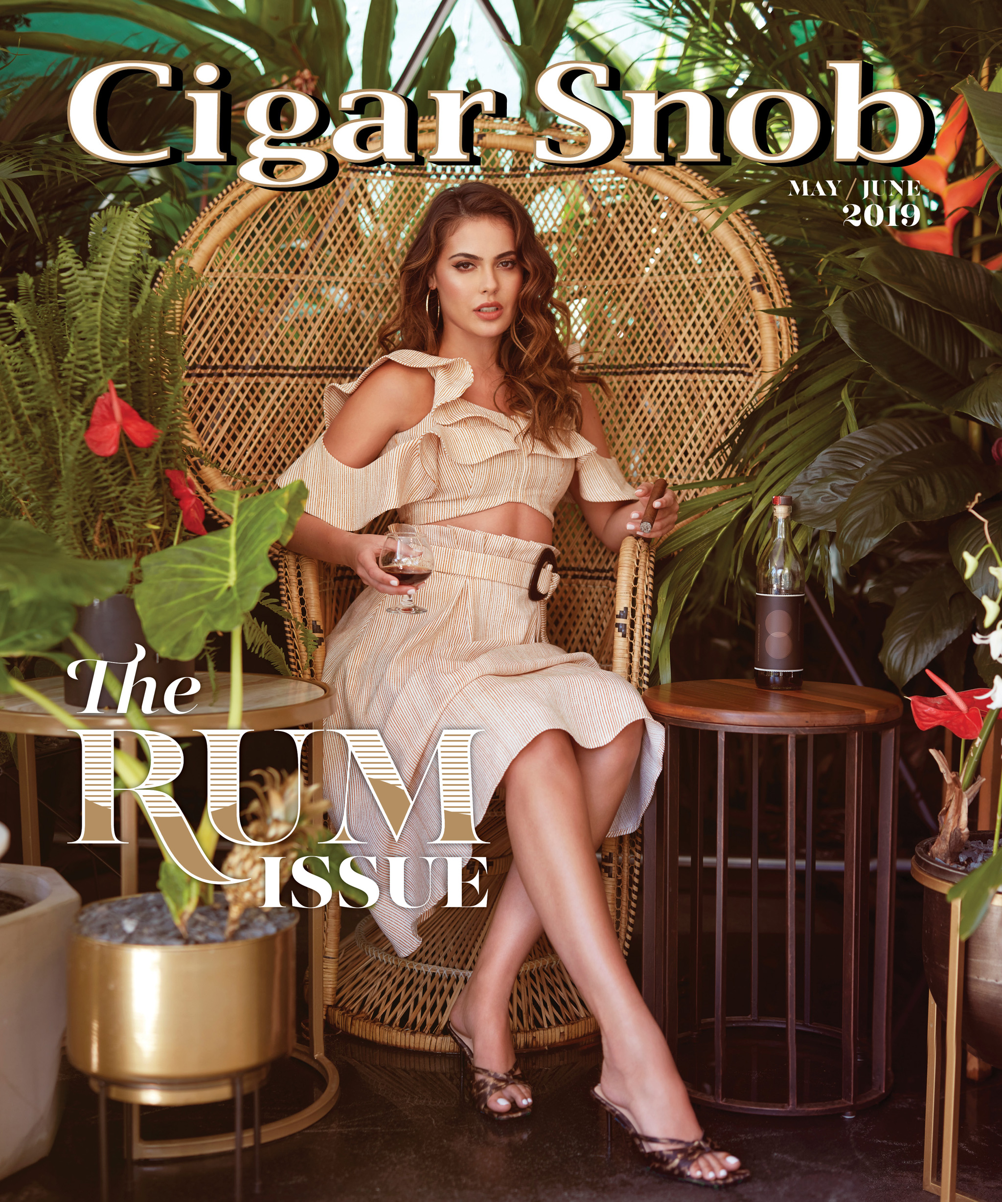 Cigar Snob Magazine May June 2019 cover