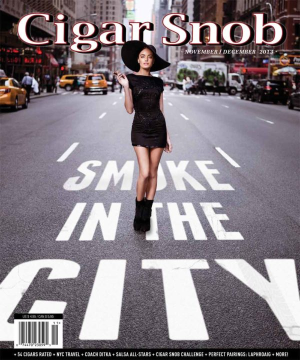 Cigar Snob Magazine November December 2013 cover