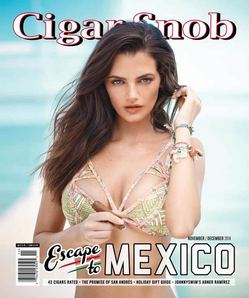 Cigar Snob Magazine November December 2014 cover