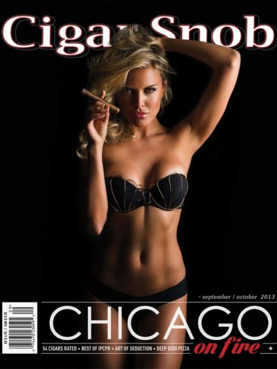 Cigar Snob Magazine September October 2013 cover