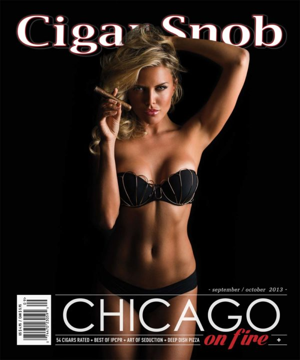 Cigar Snob Magazine September October 2013 cover