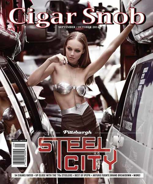 Cigar Snob Magazine September October 2014-cover