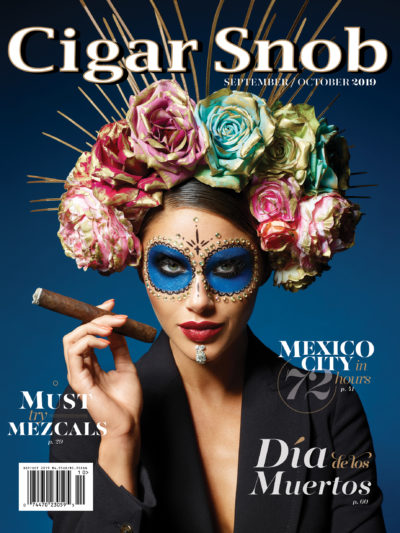Cigar Snob Magazine September October 2019 cover shot