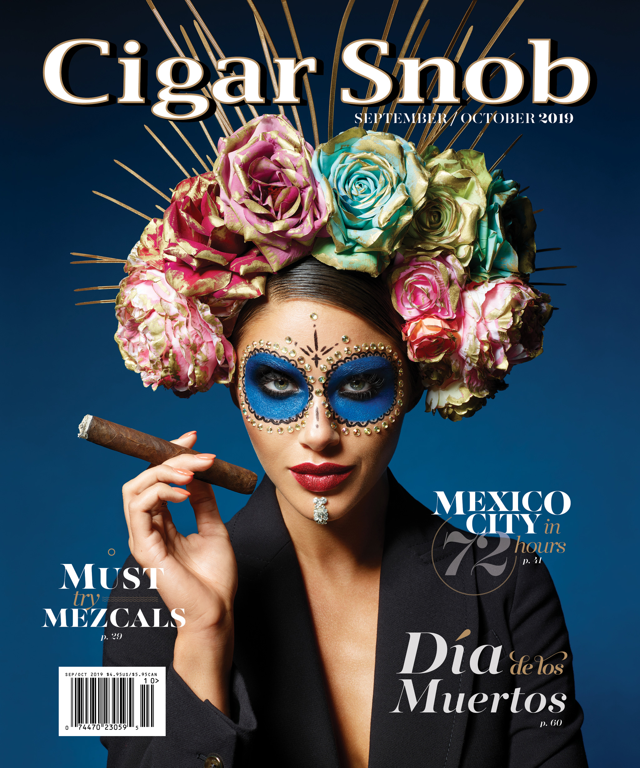 Cigar Snob Magazine September October 2019 cover shot