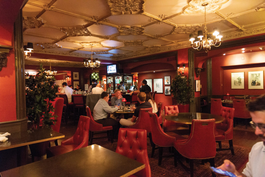 Off the Record, an irreverent meeting place that's been called one of the country's best hotel bars