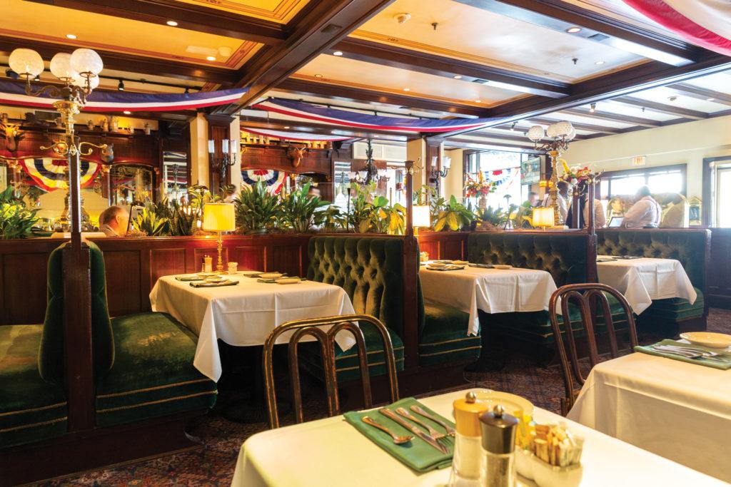 The dining room at Old Ebbitt Grill
