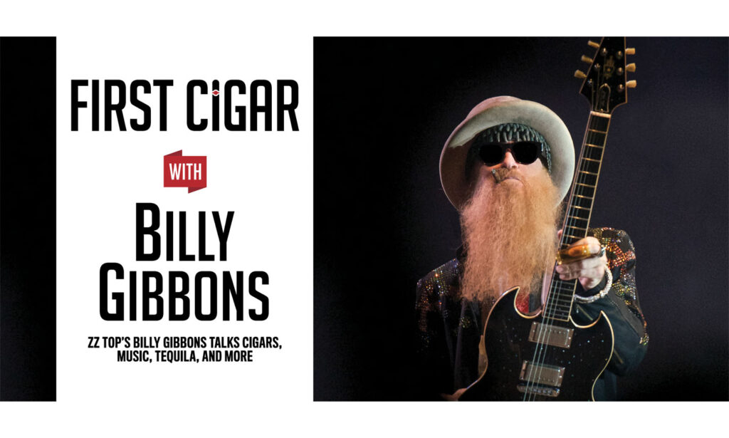 First Cigar with Billy Gibbons