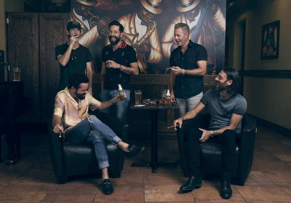 Old Dominion is one of the hottest acts in country music and they're celebrating every win with cigars