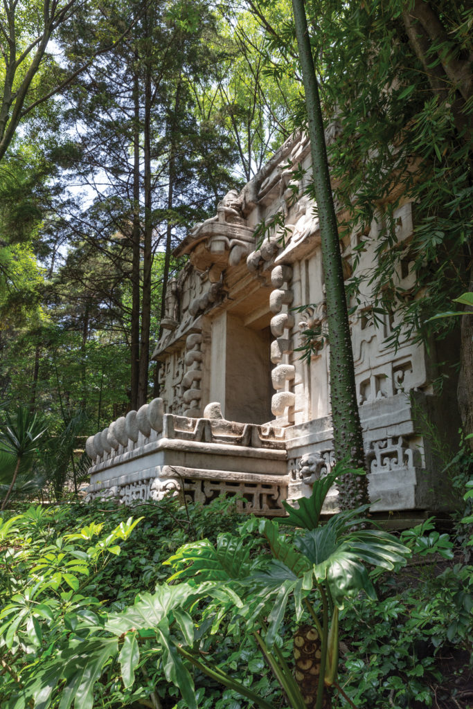 Replicas of ancient Meso-American temples at the Museo Nacional de Antropología 2