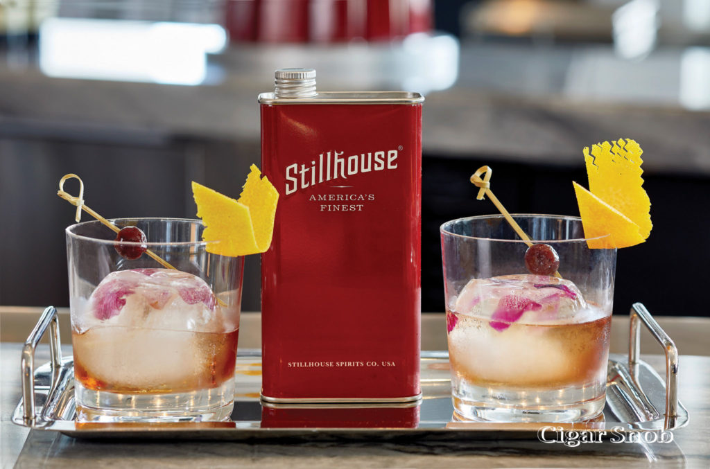 Stillhouse Whiskey with cocktail