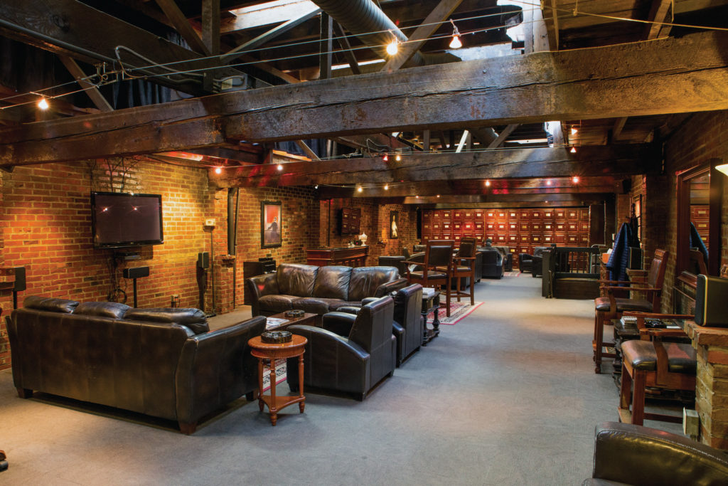 The Lounge at The Vertigo Club