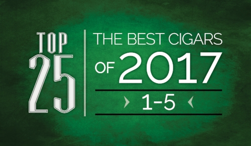 The Best Cigars of 2017 | Top 25 | 1 Thru 5 | Cigarsnob Magazine