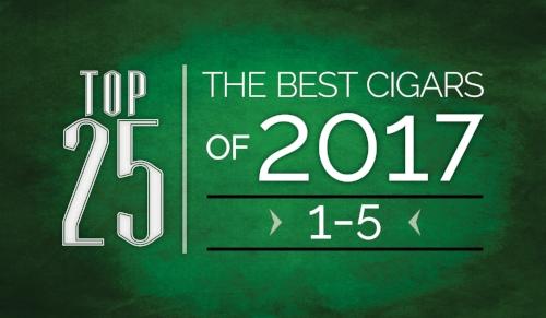 The Best Cigars of 2017 | Top 25 | 1 Thru 5 | Cigarsnob Magazine