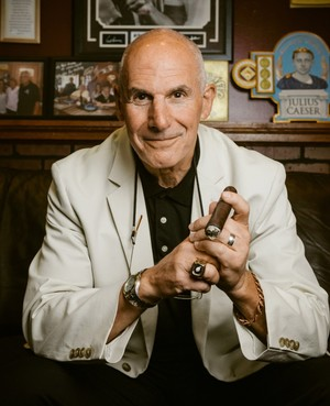 Randy Grossman told us some of his NFL stories at his favorite Pittsburgh cigar shop, Smoke N' Guns.