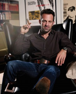 Scott Waugh — stuntman, director, cigar snob