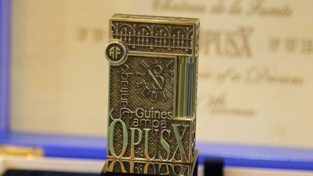 Fuente Fuente OpusX 20th anniversary collection by S.T. Dupont