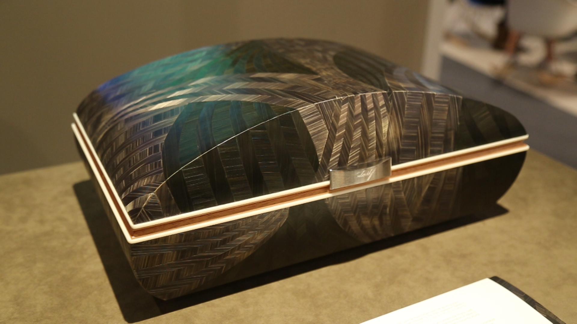 Video: Davidoff's Cave de Paille humidors at Art Basel Miami Beach