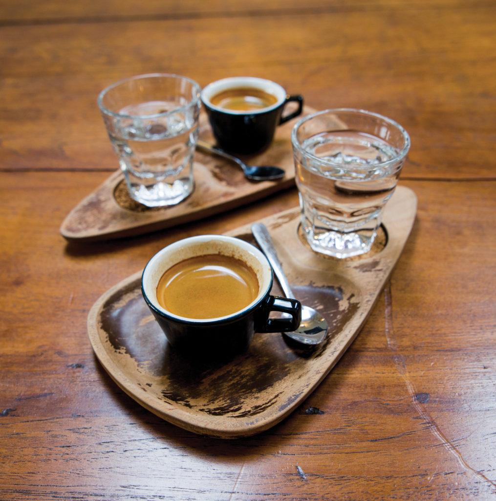 "the Cuban-style espresso at El Diablo Coffee, a ""Cuban-inspired"" Queen Anne coffee shop"