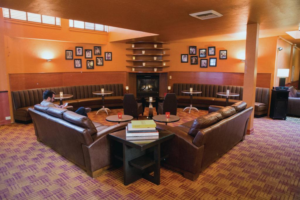 the lobby at The Inn at El Gaucho